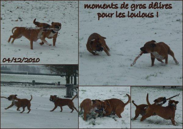 """les """"gros"""" dans la neige"""