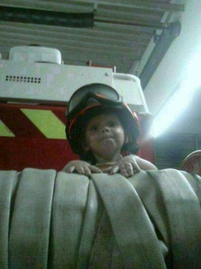 un future pompier