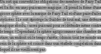 Les Grandes magies de Fairy Tail.