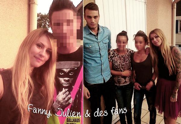 ________________________________ _____  L'aprés finale de Secret Story 6. Le Duplex ( soir de la finale) + des photos perso de Fanny & Julien . ____________