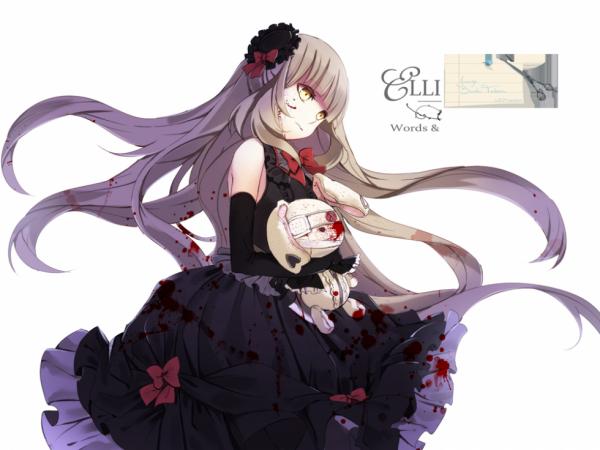 La fille aux lapin bizarre