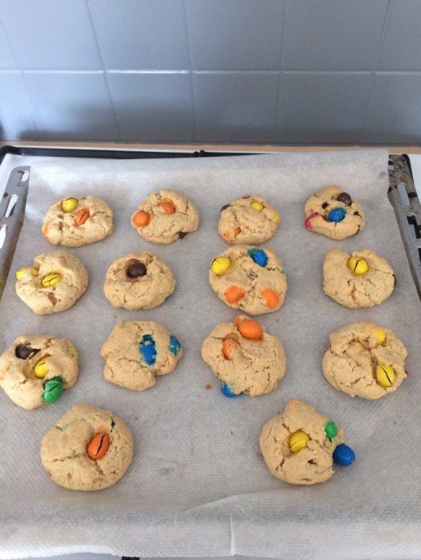 Cookies sans ½ufs.