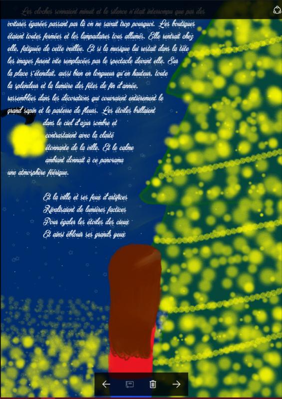 Drabbles Noël 2016