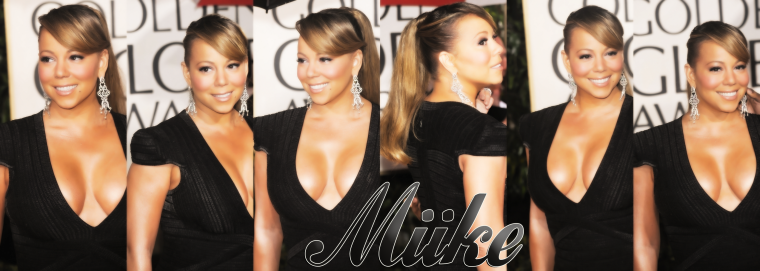 ● Mariah Carey - Golden globes 2010 ♥