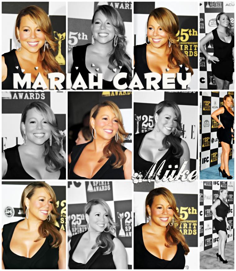● Mariah Carey - Independant Spirit Awards 2010 ♥
