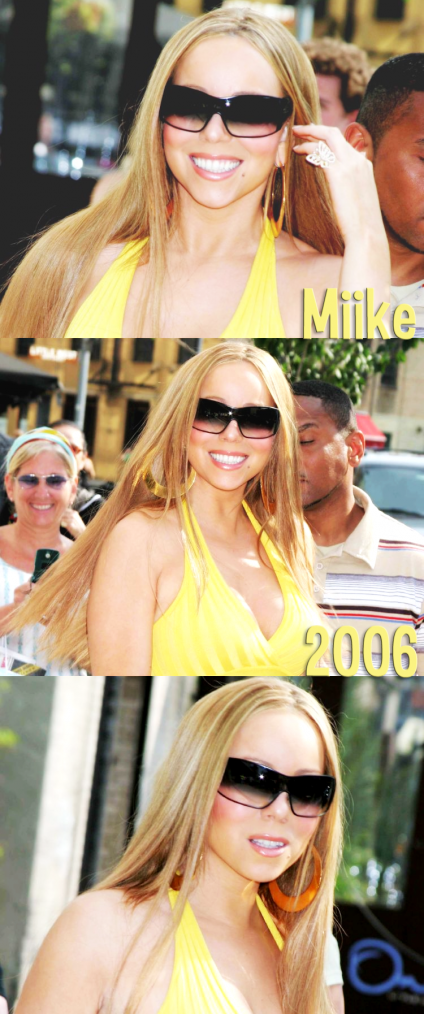 • Mariah Carey - leaves Hotel Gansevoort after guesting on MTV's Total Request Live 2006 ♥