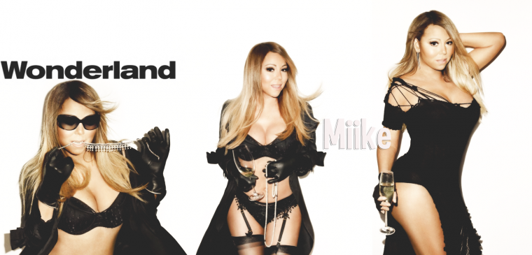 • Mariah Carey for Wonderland Magazine (2014) ♥