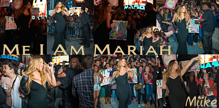 • Mariah Carey - (Event Me I AM Mariah) In Time Square 2014 ♥