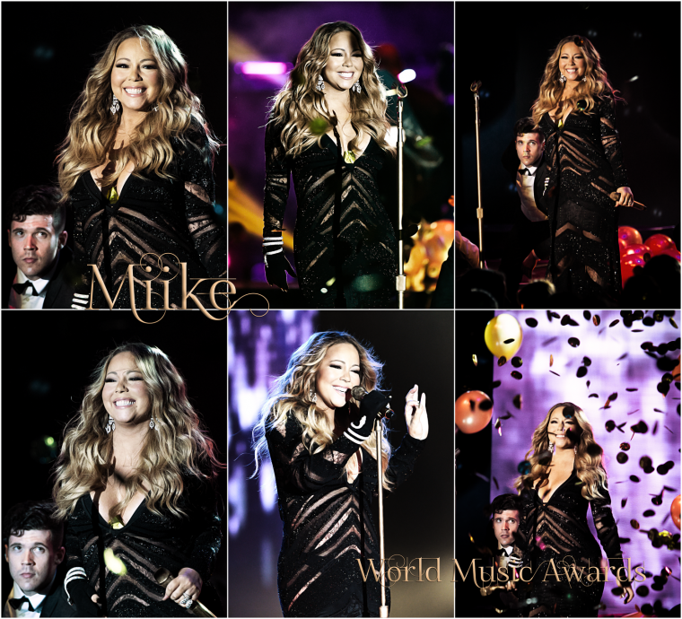 • Mariah Carey - Live World Music Awards 2014 ♥ • 2 Awards winner this night = Icon Award and Best selling singles artist in America ♥