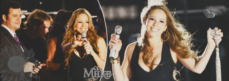 •Mariah Carey performs live on the Jimmy Kimmel Live 2008 ♥