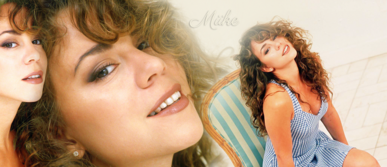 • Mariah Carey Photoshoot - Mariah in hotel room (1992) ♥
