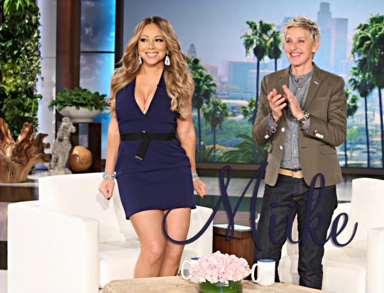 • Mariah, chez Ellen Show (Janvier 2015) ♥