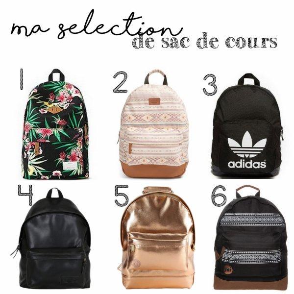 Bts : Ma sélection de sac de cours