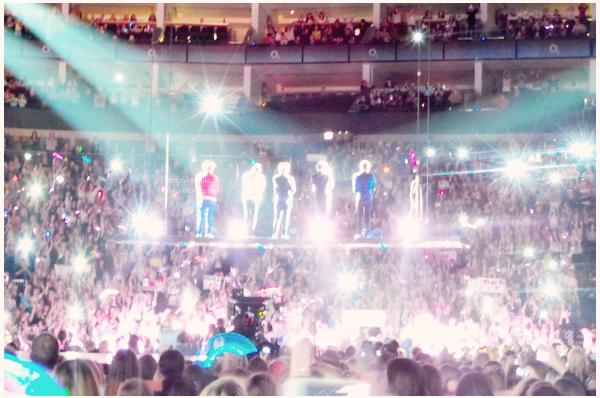 23/02/13 : Les One Direction ont donnés leur premier concert pour le Take Me Home tour à l'O2 Arena • Londres.