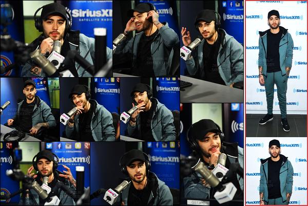 15/12/16 : Zayn s'est rendu dans les studios de la radio « SiriusXM » pour continuer à faire de la promotion.Après avoir annulé sa venue dans la radio la veille, Zayn M. s'est enfin rendu à la radio pour faire la promotion de son featuring avec Taylor Swift !
