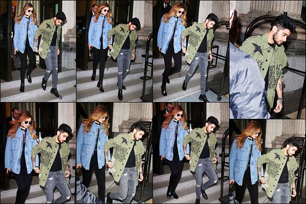 28/02/2016 : Zayn a été photographié alors qu'il quittait son hôtel situé à Milan en compagnie de sa petite-amie Gigi !Zayn a donc accompagné sa « belle » qui défile durant les différentes Fashion Week. Je le trouve absolument adorable et sa tenue est un véritable top !