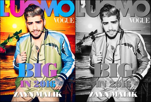 ▬ Zayn poursuit sa promotion en donnant, cette fois-ci, une interview au magazine italien « Uomo Vogue » Dans cette interview, Zayn n'a pas hésité à se confier à propos de son départ du groupe One Direction. Il confirme qu'il n'a pas eu de nouvelles des gars.