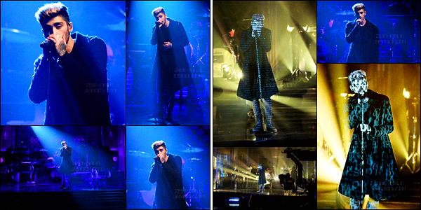 17/02/2016 : Zayn était présent lors du talk-show américain « Jimmy Fallon Show » diffusé sur la chaîne NBCC'est le premier show télévisé que Zayn fait depuis qu'il a quitté le groupe One Direction. Il a interprété une nouvelle chanson intitulée It's You.