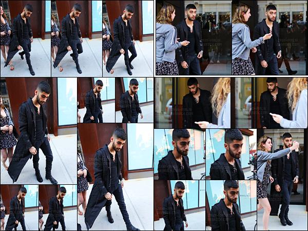 """"""" 09/06/16 : Zayn a été photographié alors qu'il sortait de l'appartement de Gigi Hadid situé à Manhattan (NY)Alors qu'il devait se rendre à Londres pour le Summertime Ball, notre Zayn a été contraint d'annuler à la dernière minute, celui-ci souffrant d'anxiété ! """""""