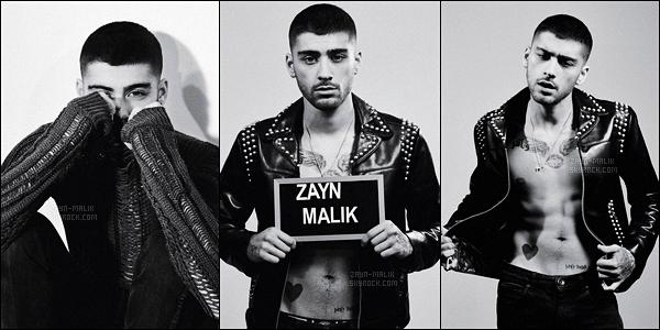""""""" Zayn a eu l'honneur de faire la  première de couverture du magazine britannique « Dazed » !"""""""