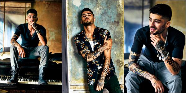 - Zayn Malik a posé pour le prochain numéro du célèbre magazine masculin « GQ » ▬ version UK ! En plus de poser pour le magazine, il va prochainement lancer une collection de chaussures avec la célèbre marque de luxe italienne Guiseppe Zanotti. -