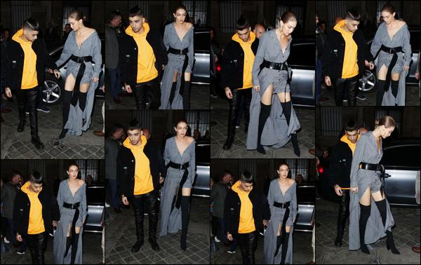 .03/03/17. ─ Quelques jours plus tard, Zayn se rendait, avec Gigi, au dîner organisé par le magazine « Vogue » à Paris. Après être rester cloîtré dans son hôtel, Zayn est enfin sorti pour, une nouvelle fois, suivre Gigi partout. Je suis ravie de voir qu'il a coupé ses cheveux !