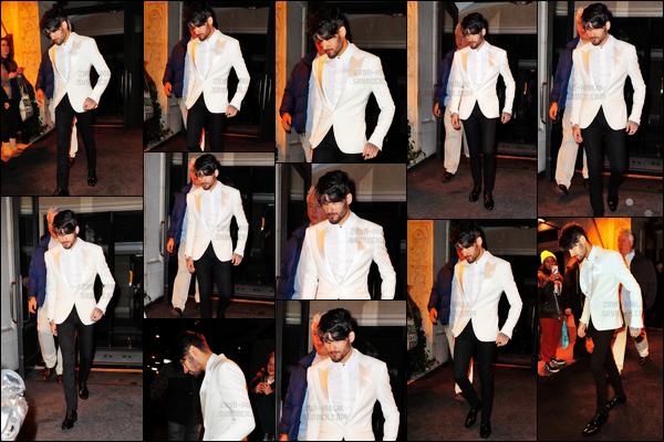 """"""" 17/01/17 : Zayn a été photographié sortant d'un hôtel pour se rendre sur le tournage du film « Ocean's 8 » !En effet, Zayn aura son propre rôle dans le film et devra filmer son arrivée lors d'un gala aux côtés de Kim Kardashian et beaucoup d'autre célébrités """""""