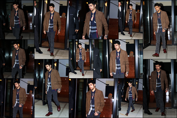 """. '14.11.2017' '─' Zayn a été aperçu alors qu'il quittait l'immeuble dans lequel il vit avec Gigi Hadid à New-York !  Quelques jours auparavant, Zayn a remporté l'award de l'artiste le plus stylé lors de la cérémonie des MTV EMA qui s'est déroulée à Londres dimanche. """""""