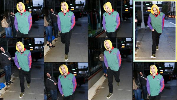 """. """"30.05.2018"""" '─' Zayn a été aperçue alors qu'il se rendait à l'appartement de Gigi situé dans Manhattan (NY)  C'est capuche sur la tête et la gueule dans le cul que Zayn rejoint sa bien-aimée à son appartement. C'est une affaire à suivre visiblement. """""""