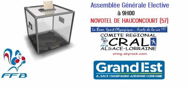 LA DERNIERE ASSEMBLEE GENERALE DU CRAL...