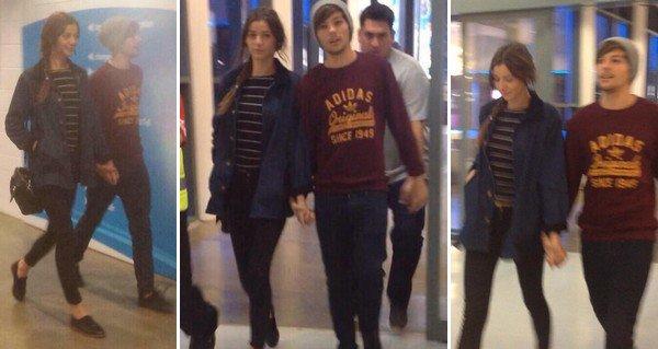 28 OCTOBRE | Eléonor Calder à rejoins son amoureux Louis à Melbourne, ils on été apperçu à l'aéroport en compagnie de Zayn.