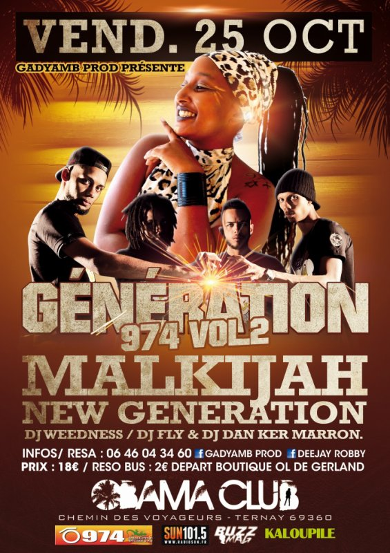 "GENERATION 974"" VOL.2 By GADYAMB PROD"