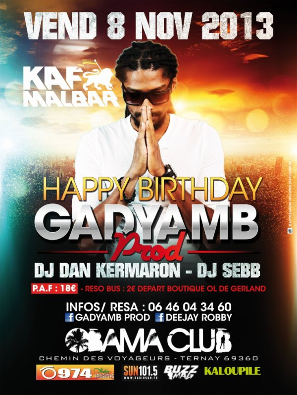 "HAPPY BIRTHDAY ""GADYAMB PROD"""