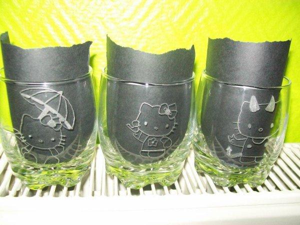 toujours gravure sur verres