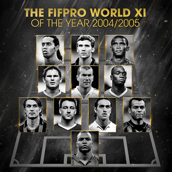 FIFPro World XI (2000-2005)