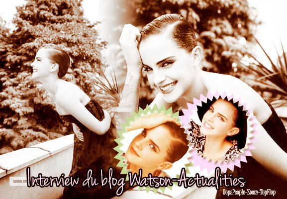 Interview du blog d'Avril : Watson-Actualities