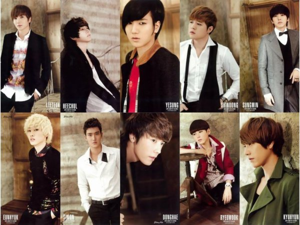 fanfic de Super Junior: Dark Super Junior