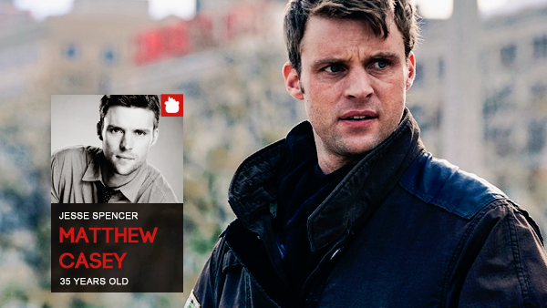 #PERSONNAGE / CHICAGO FIRE – MATTHEW CASEY.