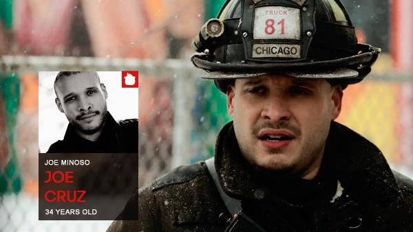#PERSONNAGE / CHICAGO FIRE – JOE CRUZ.