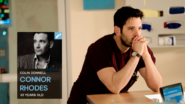 #PERSONNAGE / CHICAGO MED – CONNOR RHODES.
