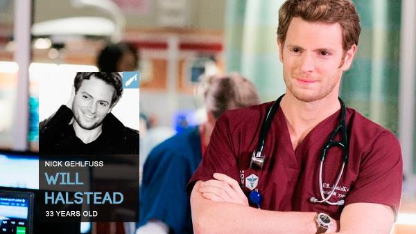 #PERSONNAGE / CHICAGO MED – WILL HALSTEAD.