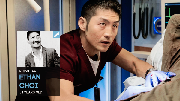 #PERSONNAGE / CHICAGO MED – ETHAN CHOI.