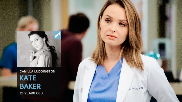 #PERSONNAGE / CHICAGO MED – KATE BAKER.