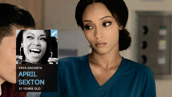 #PERSONNAGE / CHICAGO MED – APRIL SEXTON.