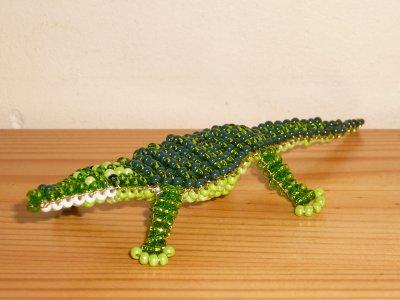 perle de rocaille crocodile