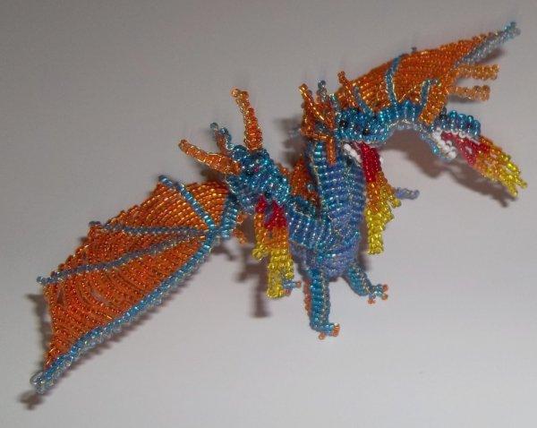 perle de rocaille dragon