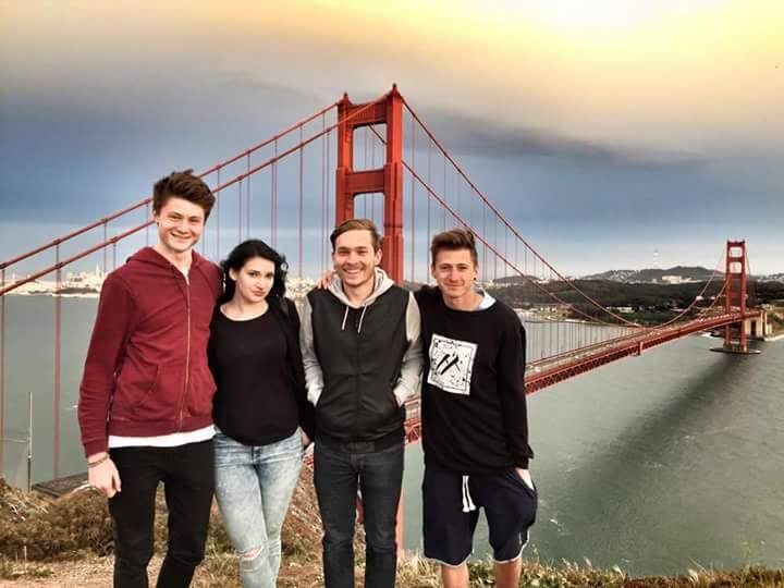 magnifique vacance avec les frères à San Francisco <3