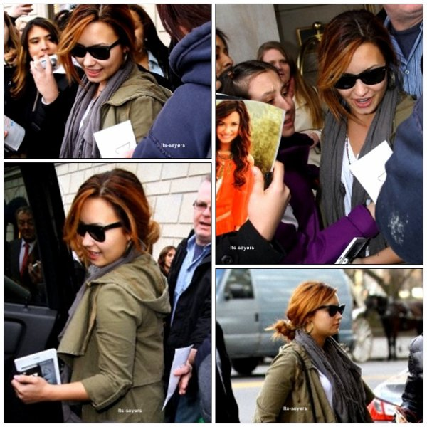 Samedi 10 mars : Demi fera une apparition jeudi prochain dans 'American Idol' le 15 mars à 20 heure sur la FOX. Elle interprétera sa chanson à succès .