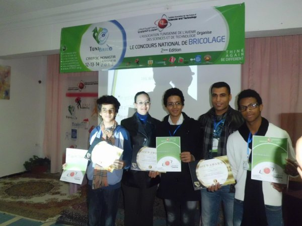 1st place comptetion national de projet science & technology :p