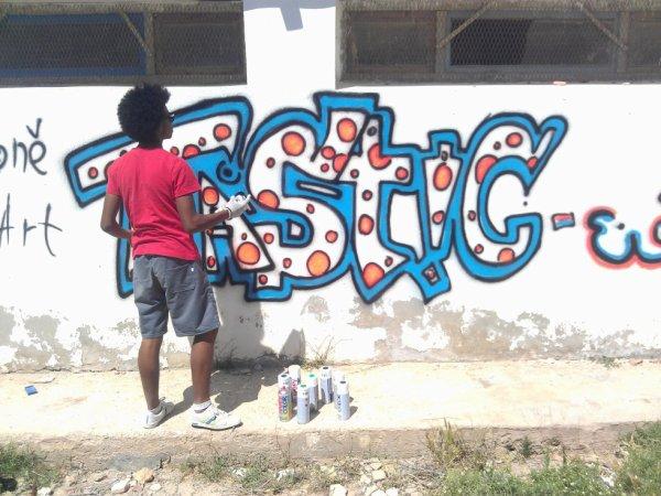 En mode Street Artiste :D